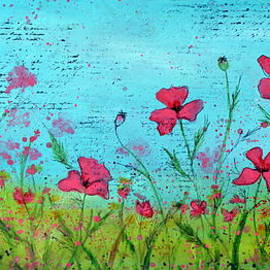 Carla Parris - Field of Poppies