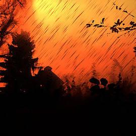 Persephone Artworks - Fiery Sunset