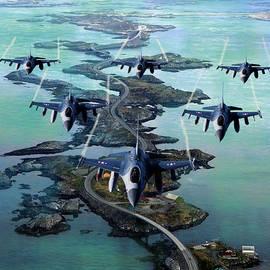 Michael Rucker - Fighter Jet Squadron
