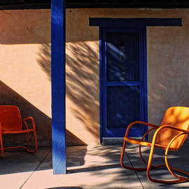 Lucinda Walter - Filtered Light on the Patio
