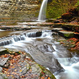 Frozen in Time Fine Art Photography - Finger Lakes Waterfall