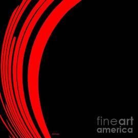 Saribelle Rodriguez - Fire Abstract Art 3 by Saribelle Rodriguez