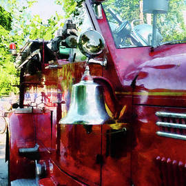 Susan Savad - Fireman - Bell on Fire Engine