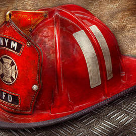 Mike Savad - Fireman - Hat - A childhood dream