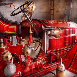 Mike Savad - Fireman - Truck - Waiting for a call