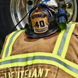 Paul Ward - Fireman Turnout Gear Lieutenant