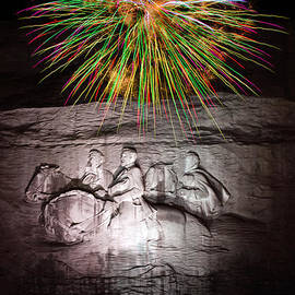 Penny Lisowski - Fireworks Over Stone Mountain
