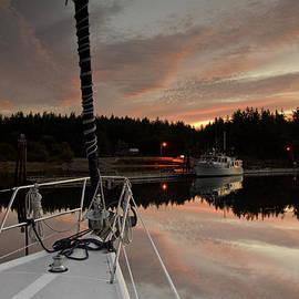 Bob VonDrachek - First Light at Mystery Bay