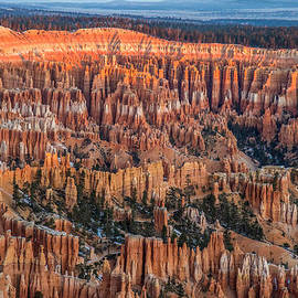 Pierre Leclerc Photography - First light in Bryce