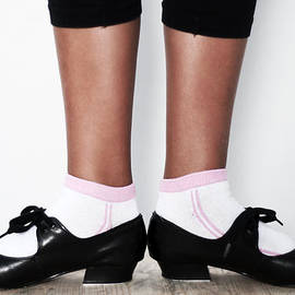 Pedro Cardona - First Position In Tap Dance Shoes At School