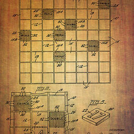 Eti Reid - First scrabble game board patent from 1956