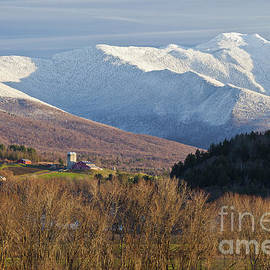 Alan L Graham - First Snow On Mount Mansfield