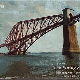 AGeekonaBike Photography - Firth Rail Poster