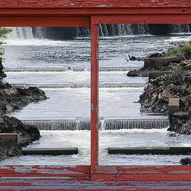 Linda Troski - Fish Ladder In Window