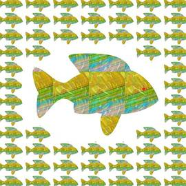 Navin Joshi - Fish poisson  exotic exotique speed delicacy delicatesse delicacy graphic digital numerique graphiqu