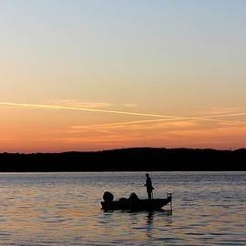 Beth Vincent - Fishing at Sunrise II