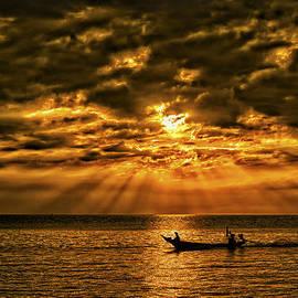 Phil Callan Photography - Fishing at Sunset