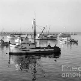 California Views Mr Pat Hathaway Archives - Fishing boat San Giovanni Monterey Bay California Circa 1960