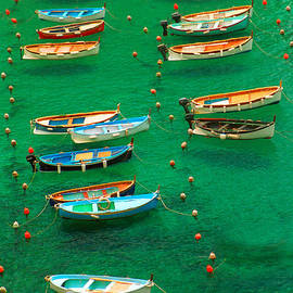 David Smith - Fishing Boats in Vernazza