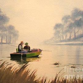 Bill Holkham - Fishing By Sunrise