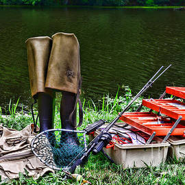 Paul Ward - Fishing - Fishing Tackle