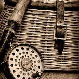 Paul Ward - Fishing - Fly Fishing - black and white