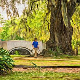 Steve Harrington - Fishing in CIty Park New Orleans