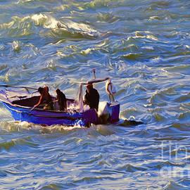 Ted Guhl - Fishing on Rough Seas