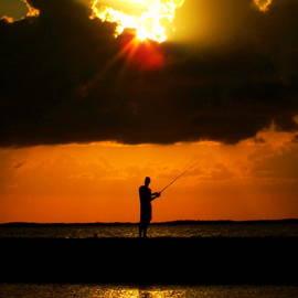 Karen Wiles - FISHING the SUN