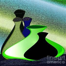 Iris Gelbart - Five lovely vases