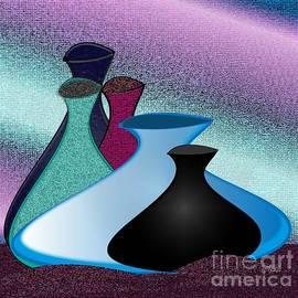 Iris Gelbart - Five Vases