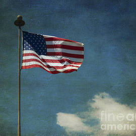 Luther   Fine Art - Flag - Still Standing Proud - Luther Fine Art