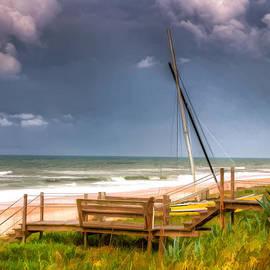 Michael Schwartzberg - Flagler Beach 11 with Boats