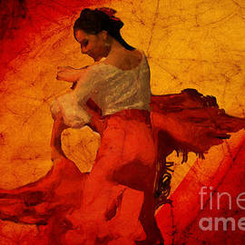 Mary Machare - Flamenco Dancer 17 - The Red Dress