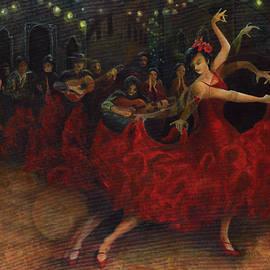 Anika Ferguson - Flamenco Dancer
