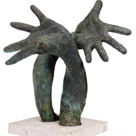Oksana Kuzmenko - FLAMENCO - original bronze sculpture artwork