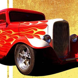 D H Carter - Flames Ford
