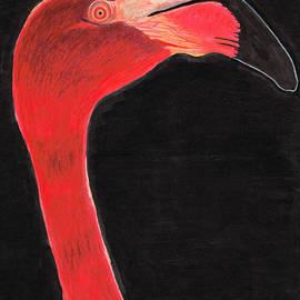 Sharon Cummings - Flamingo Art By Sharon Cummings