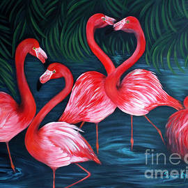 Oksana Semenchenko - Flamingo Love. Inspirations Collection.