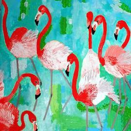 Vicky Tarcau - Flamingos 2