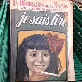 France  Art - Flea Market Find