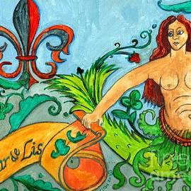 Genevieve Esson - Fleur De Lis Mermaid
