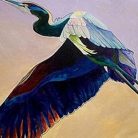 Sherry Shipley - Flight of the Heron