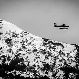 Melinda Ledsome - Float Plane over the Mountain
