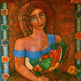 Madalena Lobao-Tello - Flora - Goddess of the Seeds