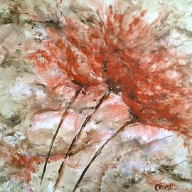 Christie Clunan - Floral Flame