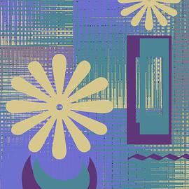 Ben and Raisa Gertsberg - Floral Still Life In Purple