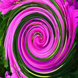 Margaret Saheed - Floral Swirl 2