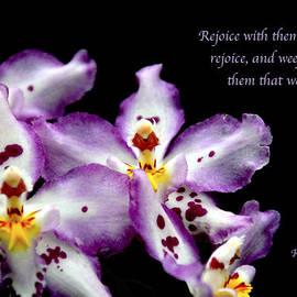 Debbie Nobile - Floral with scripture