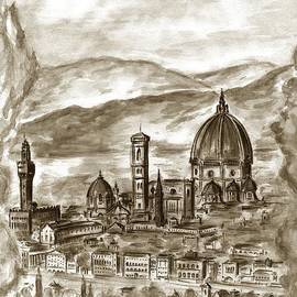Peter Art Gallery  - Paintings Photos Posters Prints - Florence Italy 90 - Drawing